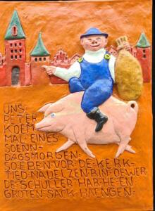 Georg Lipinsky - Uhlenköper-Relief 2(alle Rechte beim Künstler)