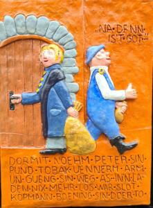 Georg Lipinsky - Uhlenköper-Relief 3(alle Rechte beim Künstler)